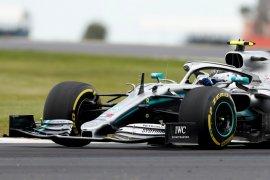 Bottas ungguli Hamilton di Sirkuit Silverstone