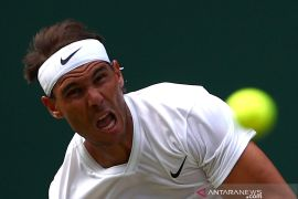 Nadal akui tampil tak maksimal