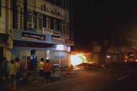 Satu rumah toko di Stabat terbakar