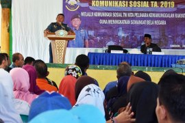 Lantamal IX/ Ambon tingkatkan sinergitas dengan komsos di Negeri Tial