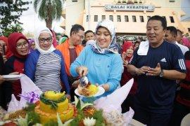 Senam Bersama dan Ultah Wakil Gubernur Lampung