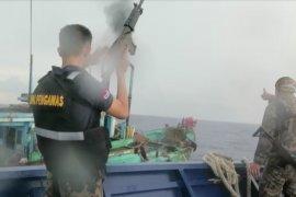 KKP dan Bakamla tangkap enam kapal ilegal asal Vietnam