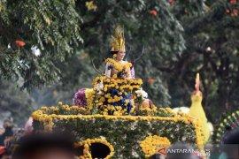 Parade bunga Beautiful Malino pukau wisatawan mancanegara