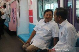 Rekonsiliasi Jokowi-Prabowo di MRT  sejarah bagi Indonesia