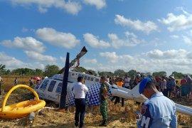 Penyebab jatuhnya helikopter di Lombok tunggu hasil investigasi KNKT