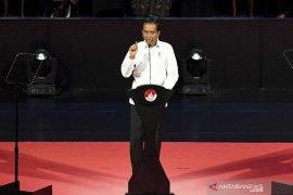 Lima janji Jokowi hingga pertemuan Jokowi dan Prabowo