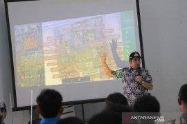 Gedung KNPI Kota Tangerang dilengkapi fasilitas olahraga