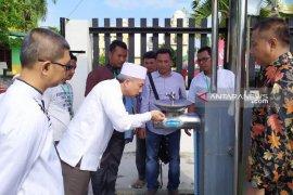 PDAM Tirtanadi pastikan ketersediaan air bersih di Asrama  Haji Medan