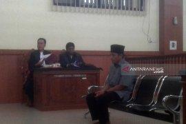 Terdakwa pembunuhan satu keluarga di Rejang Lebong minta keringanan hukuman
