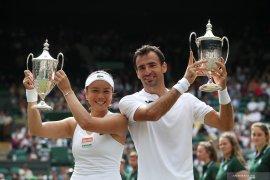 Petenis Taiwan dan Kroasia juara ganda campuran Wimbledon