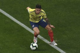 Atletico ingin rekrut James Rodriguez dari Real Madrid