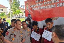Polda Sumsel tangkap pengedar sabu jaringan Medan