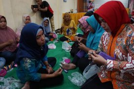 Pemkot Mojokerto gelar pelatihan pembuatan manik-manik berorientasi ekspor
