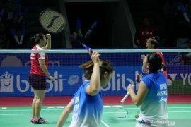 Nadya/Tiara tantang  unggulan pertama Jepang di babak kedua