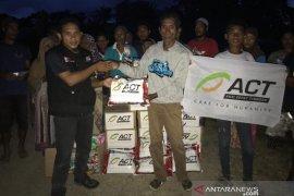 ACT Berikan Bantuan ke Ratusan Kepala Keluarga Korban Gempa Maluku Utara