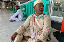 Calhaj asal Pekanbaru Riau terbantu layanan Bus Shalawat ke Masjidil Haram