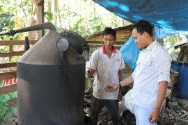 YABN coba  produksi asap cair dari sekam padi