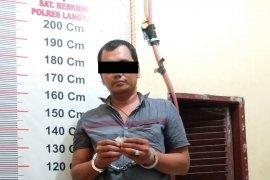 Polisi Hinai Langkat tangkap pemilik narkotika
