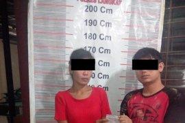 Polsek Besitang Langkat ringkus dua pemilik narkotika