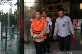 KPK tahan empat tersangka kasus suap pengesahan RAPBD Jambi