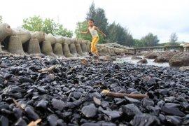 Obyek wisata pantai tercemar batubara
