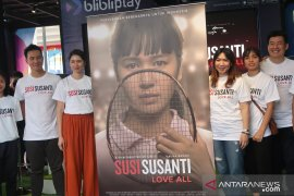 Kisah pebulutangkis Susi Susanti dibuat film
