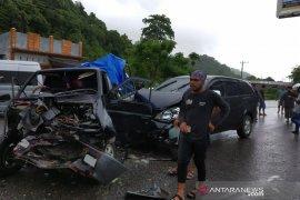 Tabrakan beruntun kembali terjadi di Aceh Jaya