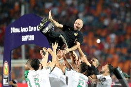 Gagal saat jadi pemain, Belmadi sukses bawa Aljazair juara saat jadi pelatih