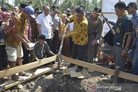 Pemerintah bangun rumah khusus nelayan di Kayong Utara