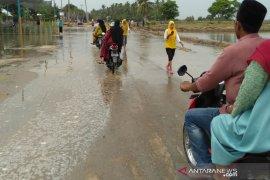 Banjir rob terjang dua desa di Aceh Utara belasan rumah berdampak
