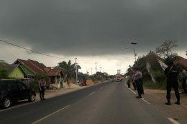 Buntut konflik Mesuji, polisi jaga perbatasan Lampung-Sumatera Selatan