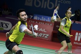 Ganda campuran Indonesia, Owi/Winny melaju ke perempat final China Open