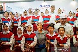 Menteri Rini minta Telkom perluas digitalisasi dunia pendidikan