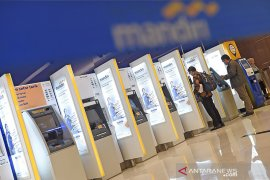 Bank Mandiri siapkan pengisian ATM Rp1,8 triliun per hari