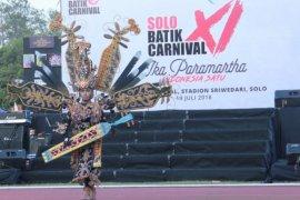 Samarinda ikuti ajang Batik Solo Carnival ke XII