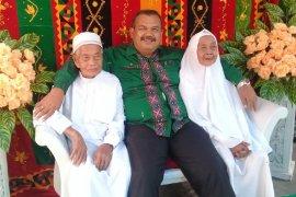 Pasutri di Medan JCH tertua berangkat dengan umur di atas seratus tahun