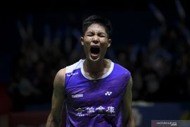 Taklukkan Kidambi, pebulu tangkis Taiwan Chou Tien Chen melaju ke semifinal Denmark Open