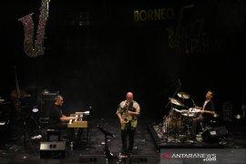 Aksi Alberto Marsico Trio pukau penonton Borneo Jazz Festival 2019