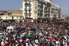 Pemain timnas Aljazair pulang disambut bak pahlawan