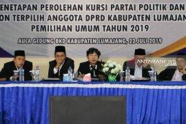 KPU Kabupaten Lumajang tetapkan calon anggota DPRD terpilih