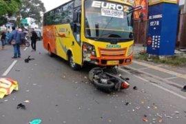 Polisi selidiki kecelakaan bus yang akibatkan satu orang tewas