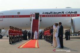 Jokowi jemput Putra Mahkota Abu Dhabi