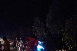 Bus jamaah calon haji kota Palangka Raya alami kecelakaan