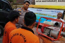 Polres Mataram tangkap penambang pasir tak berizin