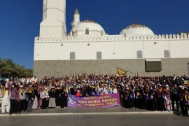 Jamaah calon haji Kota Tangerang telah tiba di Mekkah