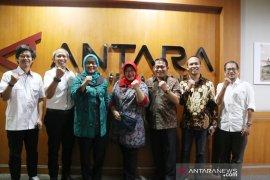 Bupati Bogor sambangi LKBN Antara untuk promosi wisata