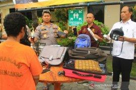 Polisi ungkap kasus pencurian di tempat  ibadah