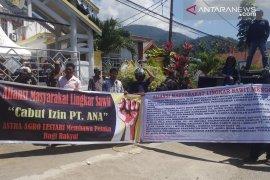 Warga lima desa desak pemkab cabut izin PT ANA