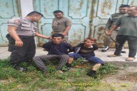 Dua pelaku pencuri sarang burung walet ditangkap warga