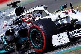 Hamilton raih pole position GP Jerman